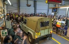 Land Rover Defender, final model, back