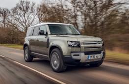 Land Rover Defender, 2020, front