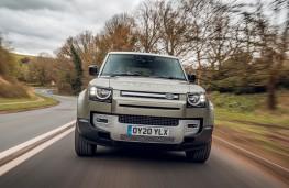 Land Rover Defender, 2020, nose