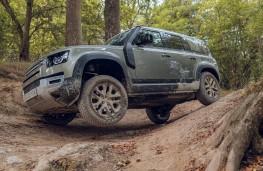 Land Rover Defender, 2020, off road, side