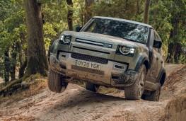 Land Rover Defender, 2020, off road, front