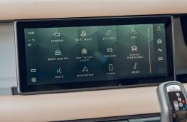 Land Rover Defender, 2020, display screen, menu