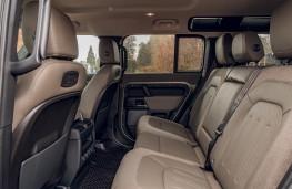 Land Rover Defender, 2020, rear seats