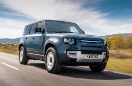 Land Rover Defender 110 Hard Top, 2021, front