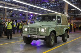 Land Rover Defender, final model, front