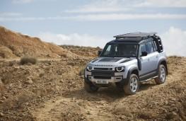 Land Rover Defender, 2019, front