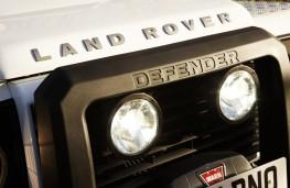 Land Rover Defender 90, front, detail