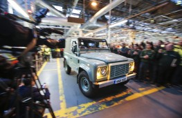 Land Rover Defender, final model