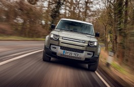 Land Rover Defender, 2020, nose
