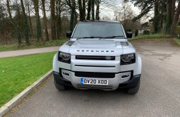 Land Rover Defender First Edition, 2021, nose