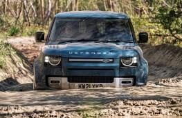 Land Rover Defender 90 Hard Top, 2021, nose, wading