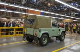 Land Rover Defender, final model, rear