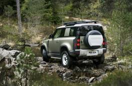Land Rover Defender, 2019, rear