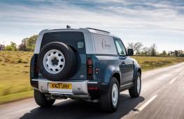 Land Rover Defender 90 Hard Top, 2021, rear