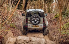 Land Rover Defender, 2020, rear, track