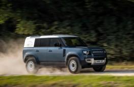 Land Rover Defender Hard Top, 2020, side, action