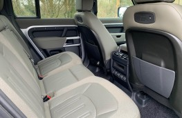 Land Rover Defender First Edition, 2021, rear seats