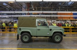 Land Rover Defender, final model, side