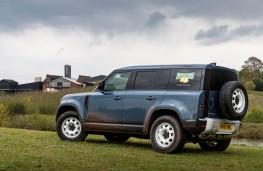Land Rover Defender 110 Hard Top, 2021, rear