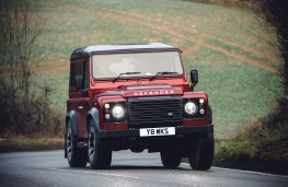 Land Rover Defender Works V8 70th Anniversary, 2018, front