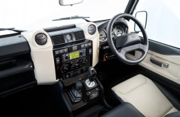Land Rover Defender Works V8 70th Anniversary, 2018, interior