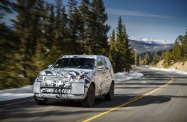Land Rover Discovery, 2016, altitude testing