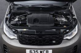 Land Rover Discovery MHEV, 2021, engine