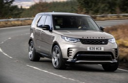 Land Rover Discovery MHEV, 2021, front, action