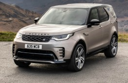 Land Rover Discovery MHEV, 2021, front, upright