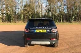Land Rover Discovery Sport, rear
