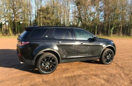 Land Rover Discovery Sport, side