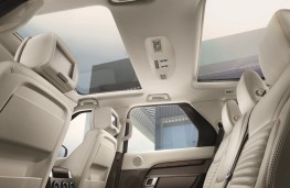 Land Rover Discovery, 2017, cabin