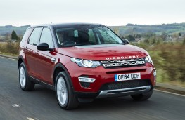 Land Rover Discovery Sport SD4 HSE Luxury, front, action