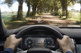 Land Rover Discovery, 2020, head up display