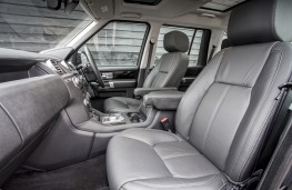 Land Rover Discovery Landmark, front seats