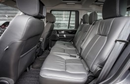 Land Rover Discovery Landmark, middle seats