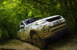 Land Rover Discovery, 2016, mud testing