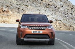 Land Rover Discovery, 2017, nose