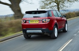 Land Rover Discovery Sport SD4 HSE Luxury, rear