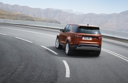 Land Rover Discovery, 2017, rear