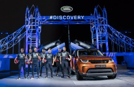 Land Rover Discovery, 2017, reveal, BAR yachstmen