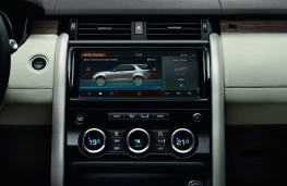 Land Rover Discovery, 2017, touchscreen
