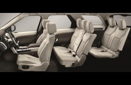 Land Rover Discovery, 2017, seats