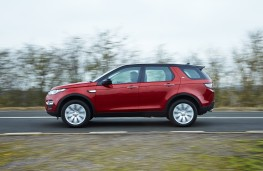 Land Rover Discovery Sport SD4 HSE Luxury, side