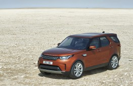 Land Rover Discovery, 2017, side, static