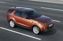Land Rover Discovery, 2017, action