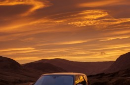 Land Rover Discovery, 2017, sunset, front