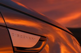 Land Rover Discovery, 2017, sunset