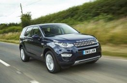 Land Rover Discovery Sport, dynamic