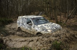 Land Rover Discovery, 2017, wading